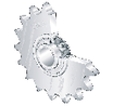 PF-31414 INA Roller Chain Idler Sprocket Units KSR